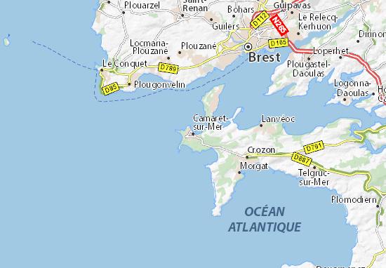 Mappe-Piantine Camaret-sur-Mer
