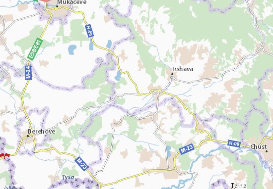 Mapa Plano Kamjanske