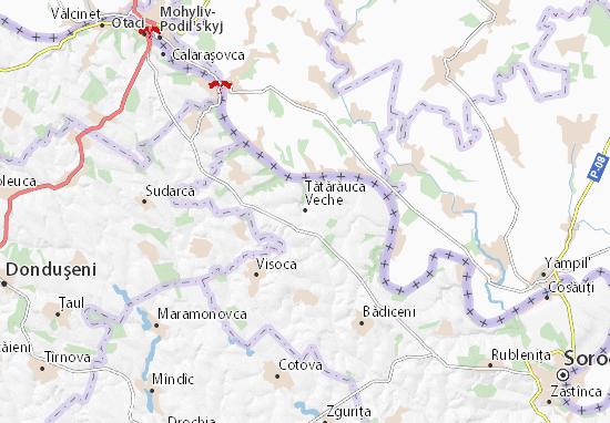 Tătărăuca Veche Map