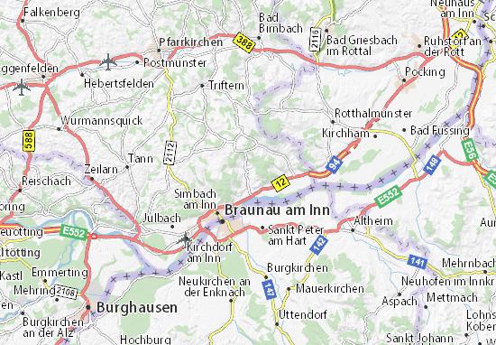 Carte-Plan Stubenberg