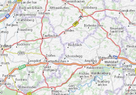 Mapas-Planos Buchbach