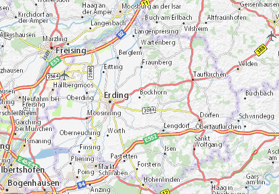 Karte Stadtplan Bockhorn