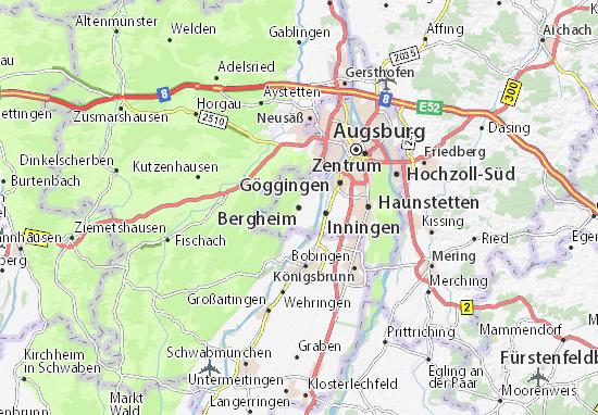 Carte-Plan Bergheim
