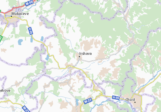 Mappe-Piantine Irshava