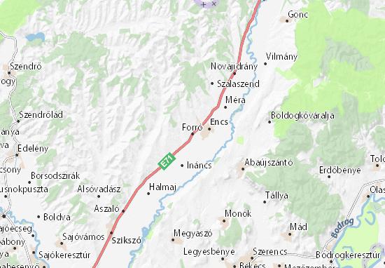 Forró Map