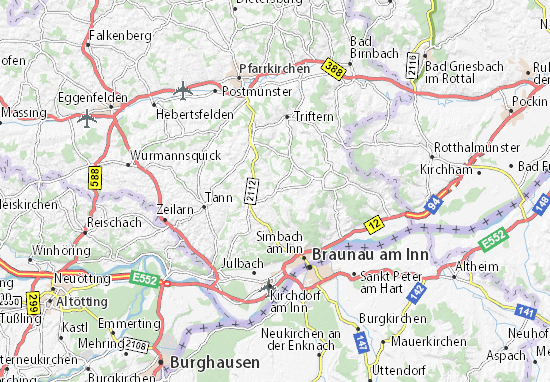 Mapas-Planos Wittibreut