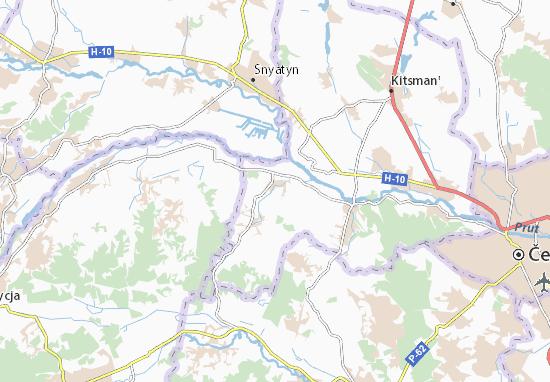 Mapas-Planos Brusnytsya