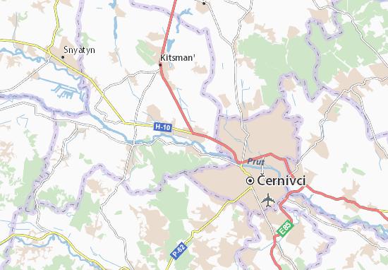 Mapas-Planos Mamaivtsi