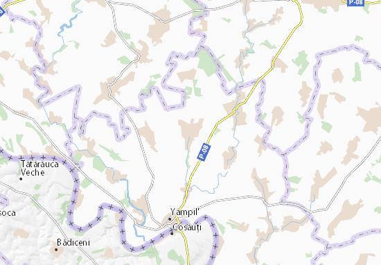 Dzyhivka Map