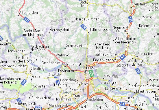 Kaart Plattegrond Lichtenberg