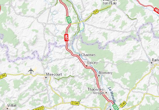 Charmes Map