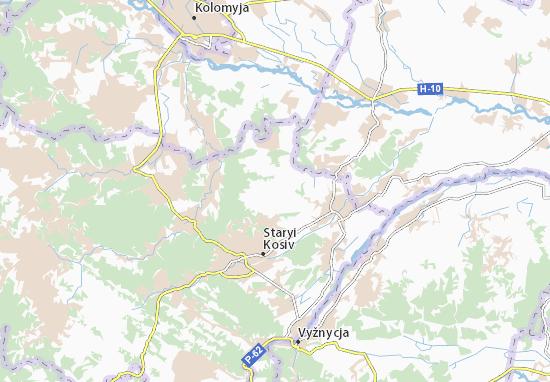 Khymchyn Map