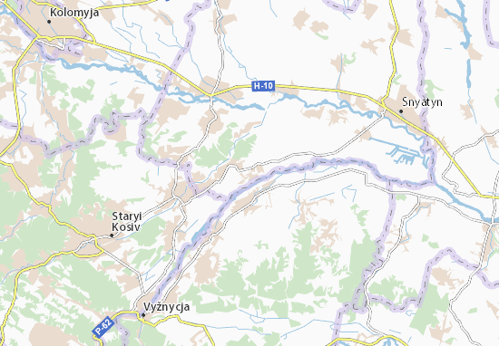 Mappe-Piantine Popel'nyky