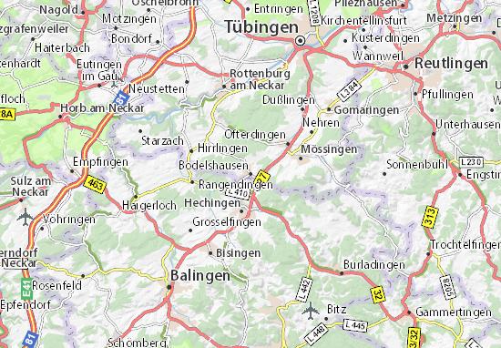 Carte-Plan Bodelshausen