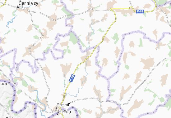 Klembivka Map