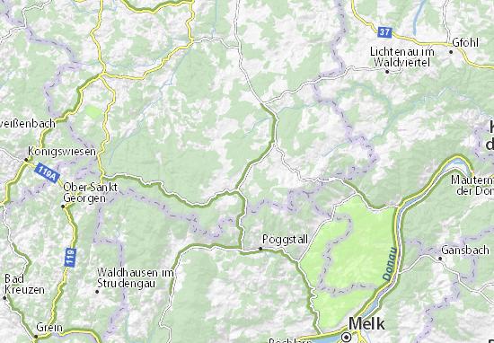 Carte-Plan Klein-Pertholz
