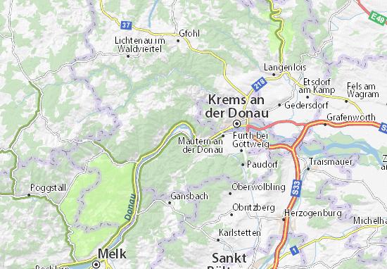 Dürnstein Map
