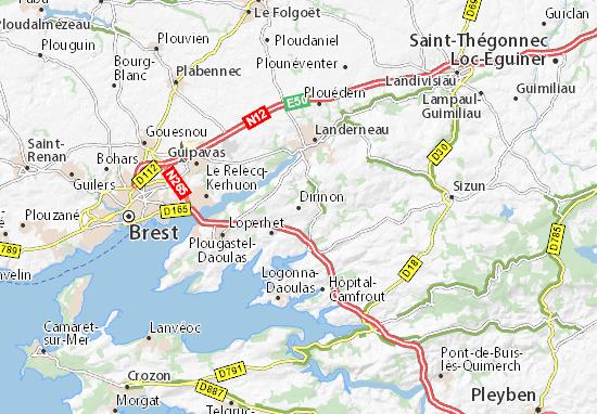 Dirinon Map