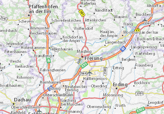 Mapas-Planos Freising