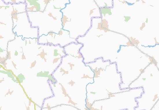 Carte-Plan Plosko-Zabuz'ke
