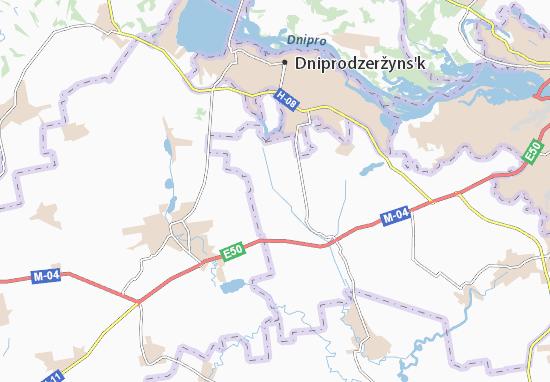 Carte-Plan Blahovishchenka