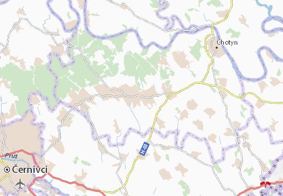 Zarozhany Map