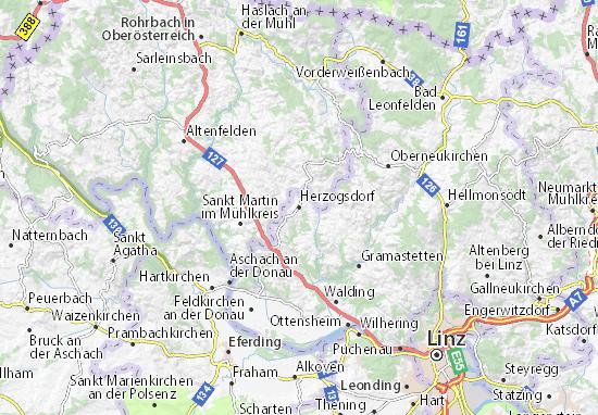 Karte Stadtplan Herzogsdorf