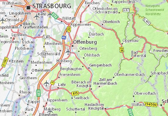Carte-Plan Ohlsbach