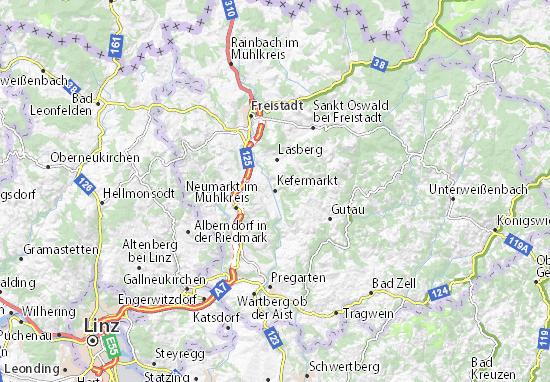 Kaart Plattegrond Kefermarkt