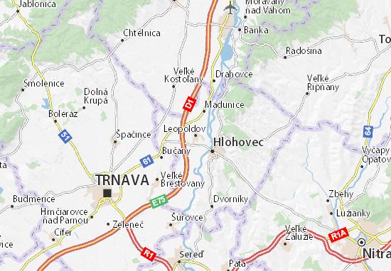 Mapas-Planos Leopoldov