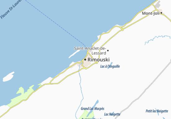Rimouski Map