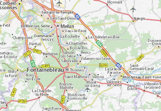 Héricy Map