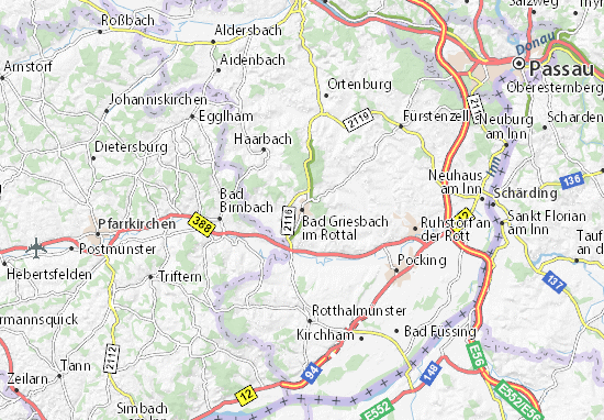 Mappe-Piantine Bad Griesbach im Rottal