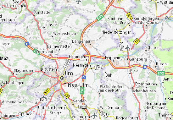Elchingen Map