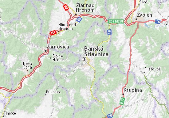 Mapas-Planos Banská Štiavnica