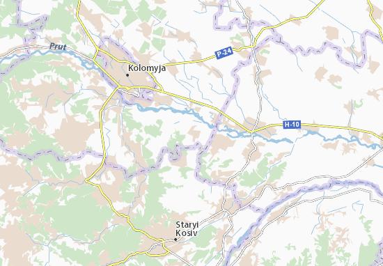 Mapas-Planos Debeslavtsi