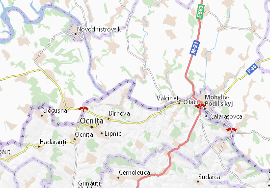 Kreminne Map