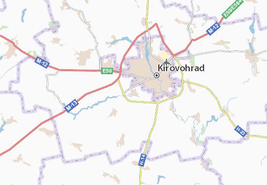 Mapas-Planos Sokolivs'ke