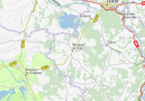 Mapas-Planos Montier-en-Der