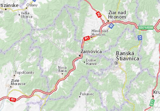 Mapas-Planos Žarnovica