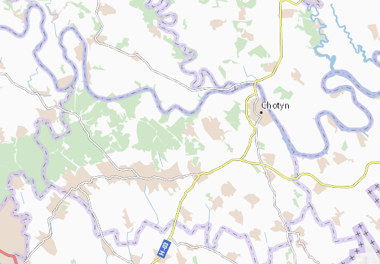 Cheponosy Map