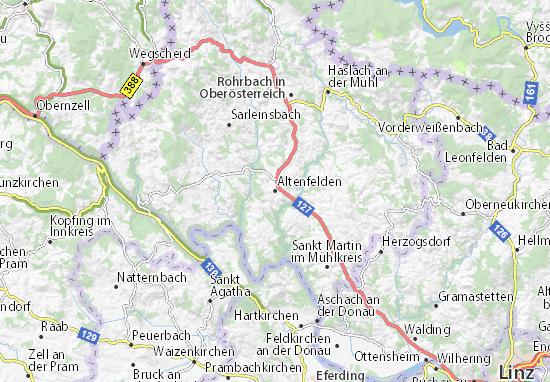 Altenfelden Map