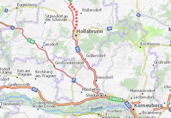 Mappe-Piantine Göllersdorf