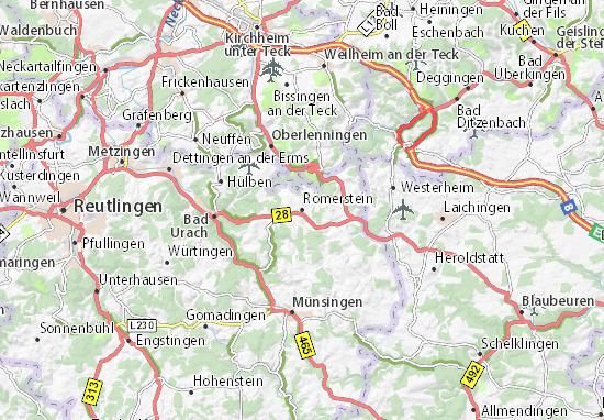 Römerstein Map