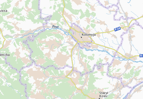 Mapas-Planos Verkhnii Verbizh