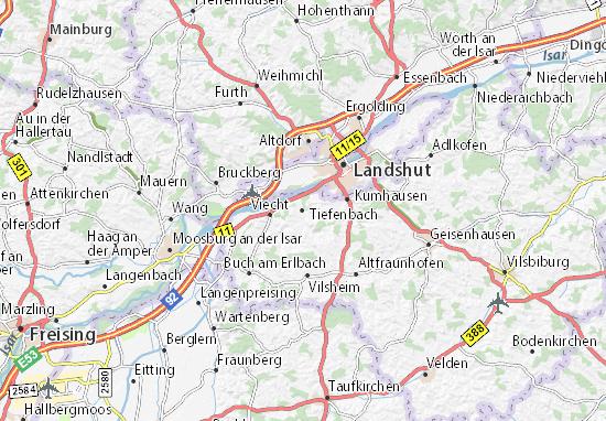 Carte-Plan Tiefenbach
