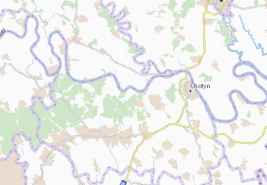 Hordivtsi Map