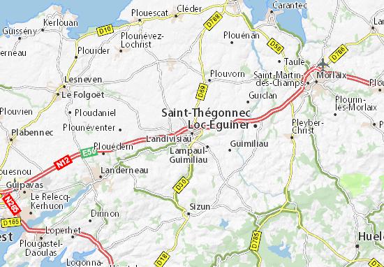 Mappe-Piantine Landivisiau