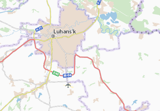Mappe-Piantine Khryashchuvate