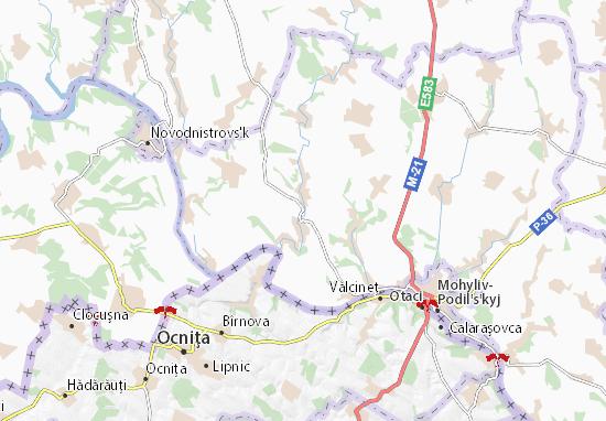 Sloboda-Yaryshivs'ka Map